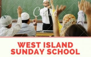 Hilm West Island Sunday School Registration