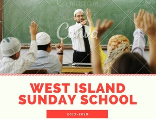 2017-18 West Island Sunday School Registration