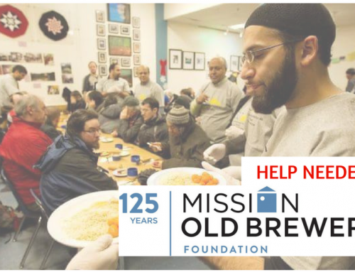 [Volunteers Needed] Ramadan Old Brewery Mission Lunch