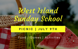 West Island Sunday School Picnic