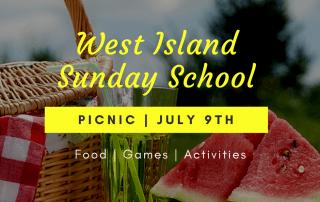 West Island Sunday School Picnic