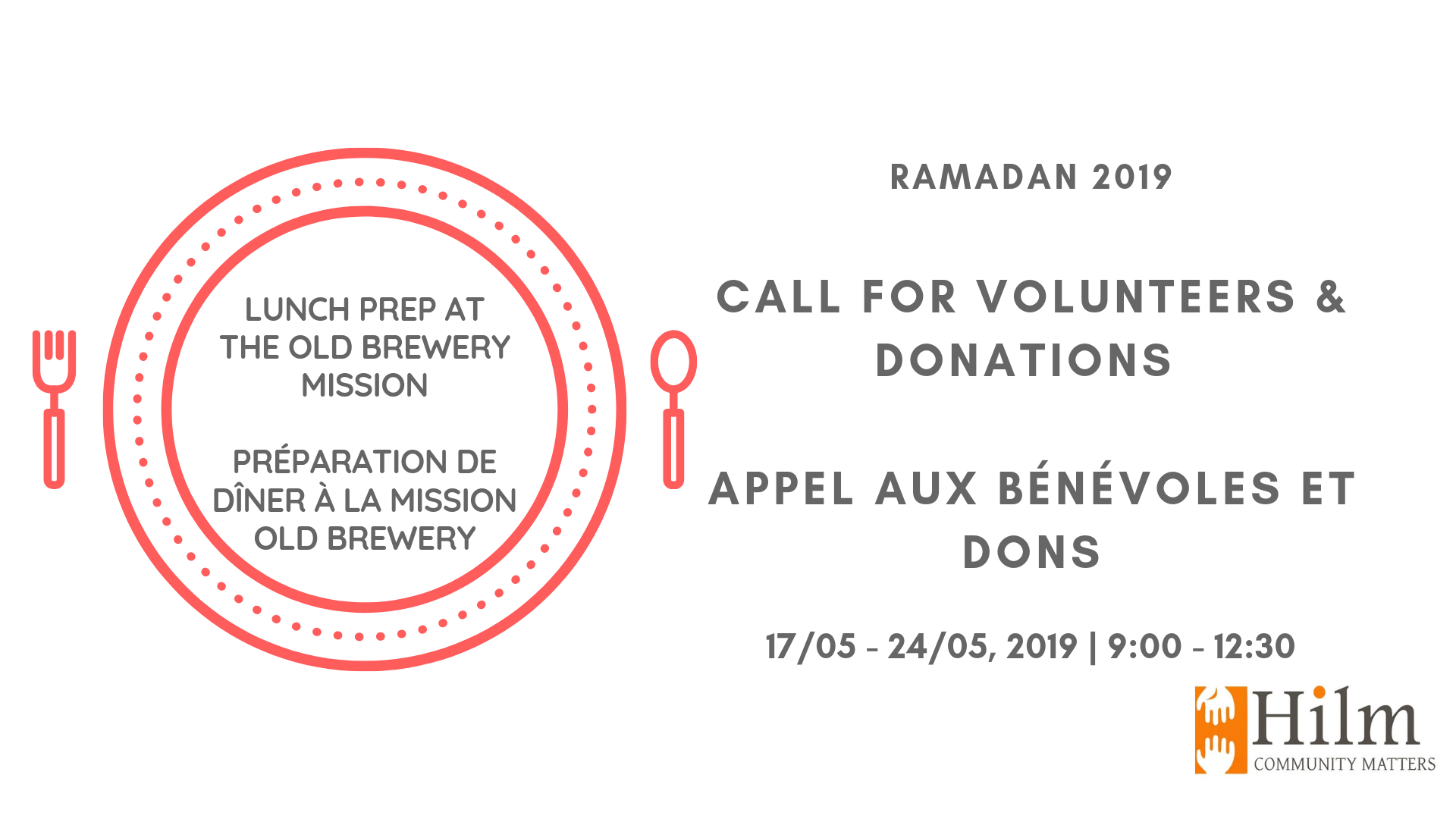 [Donations welcomed!] Old Brewery Mission Lunch Service 2019