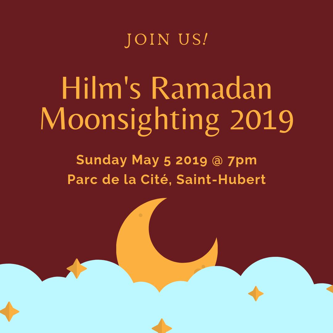 Ramadan moon sightings 2019