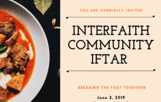 Interfaith community iftar