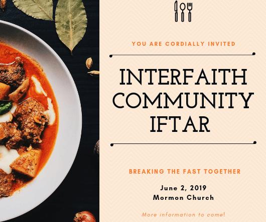 Interfaith community iftar