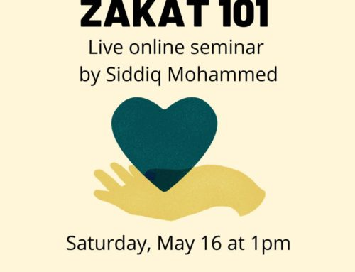 [Online] Zakat 101 Workshop