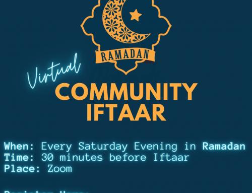 Virtual Community Iftaar